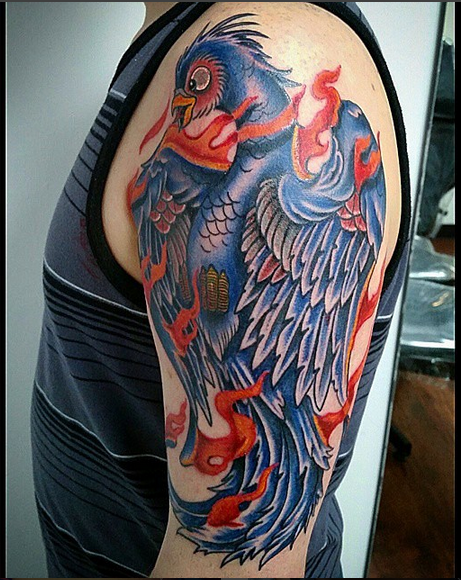 Biggs for Studio 42 tattoo